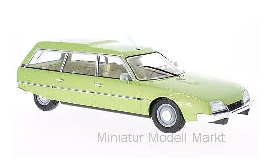 18087 - MCG CITROEN CX  2400 Super Break Series I-Metallic vert - 1976 - 1 18  direct usine
