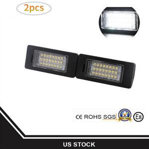 BMW-24-LED-License-Plate-Lights-Lamps-for-E82-E90-E92-F30-E39-E60-E70-Error-Free