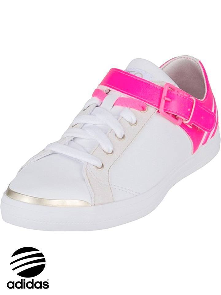 Adidas NEO W City Low blanc Pink Trainers