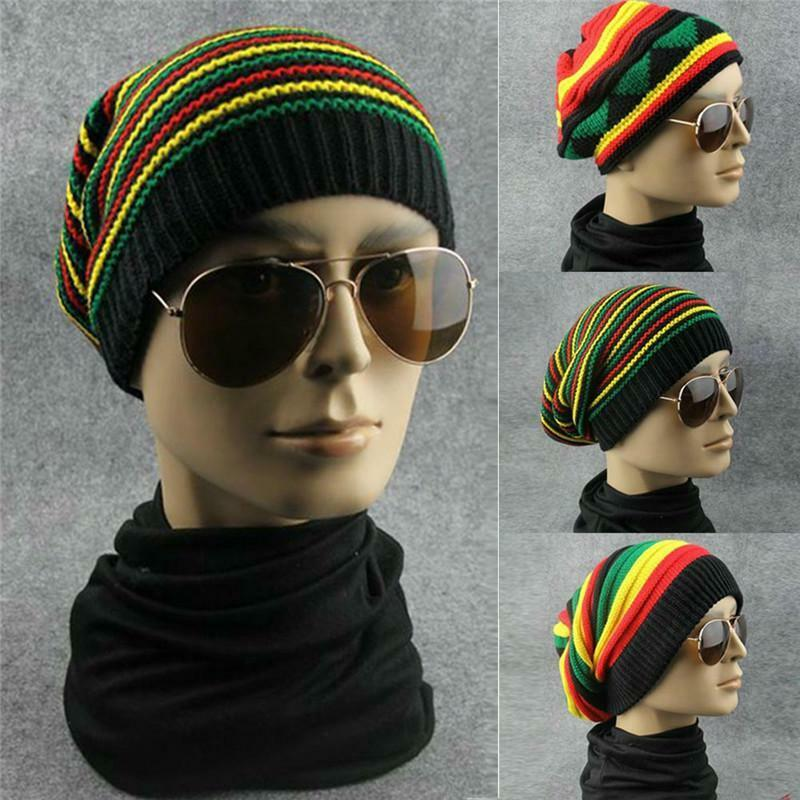 c56297d4b7cf1 Hat Beanie Rastafari Rasta Reggae Bob Marley Cap Tam Dubwise Crown Africa  Root