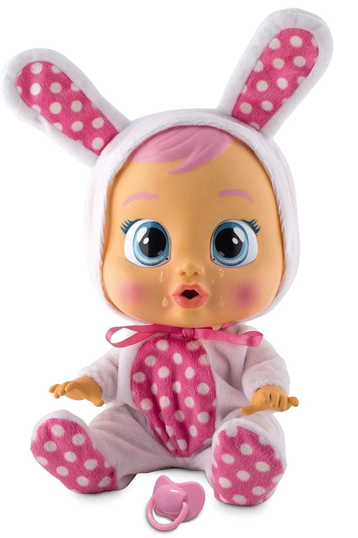 IMC Toys - Bebé lloron Coney Llora lágrimas de verdad y con sonidos Muñeca Niña