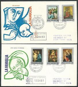 100% De Qualité 1971 Vaticano Fdc Venetia 113 La Famiglia Timbro Arrivo - Kv13 Bas Prix