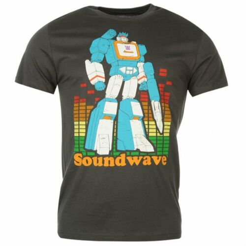 Transformers Soundwave Print Official New Ladies Skinny T-Shirt Various Sizes