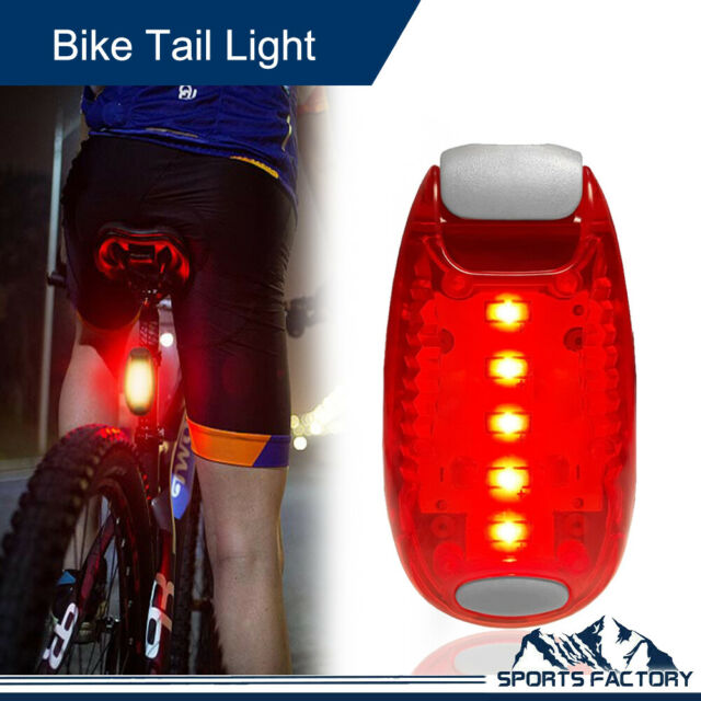 3 LED Light Clip on for Running Bike Rear Lamp Cycling Jogging Safety Warning AU