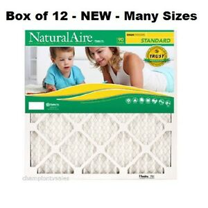 12 Pack Many Sizes Flanders Natural Air Standard