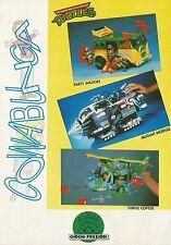 X7209 Turtle Copter - Turtles - Pubblicità 1991 - Advertising