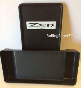 ZEN-Smokers-Rolling-Box-TRAY-Cigarette-RYO-Black-Sealable-Lid-Rubber-Gasket