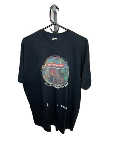 """Vintage The Cranberries """"Doors And Windows"""" Shirt"""