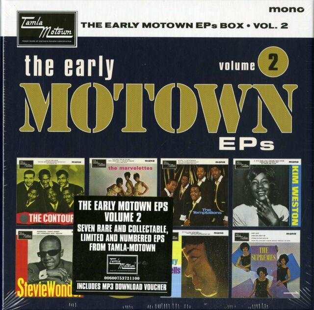 "Various Artists The Early Motown Eps VOL.2 Coffret Numéroté Sept Vinyles 7 "" Eps"