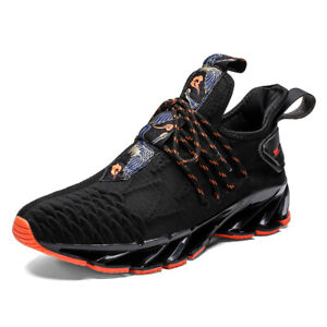 Men-039-s-Blade-Fashion-Shoes-Casual-Hiking-Trainers-Sports-Tank-Athletic-Sneakers