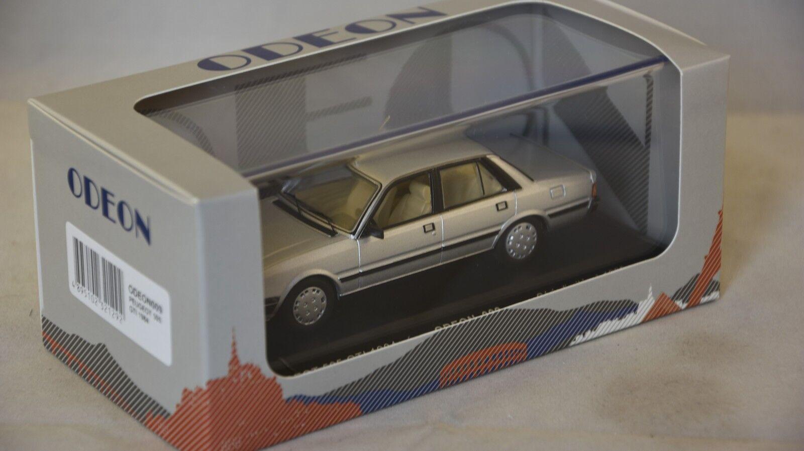 ODEON 009  - Peugeot 505 GTI 1984 Argent 1 43
