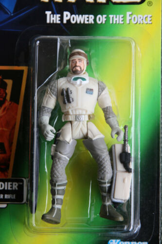 Star Wars POTF Action Figure Hoth Rebel Soldier Survival Backpack Blaster Rifle