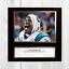 CAM-NEWTON-NFL-Carolina-Panthers-ENCADREE-NON-encadre-signe-Poster-10-034-x10-034 miniature 6