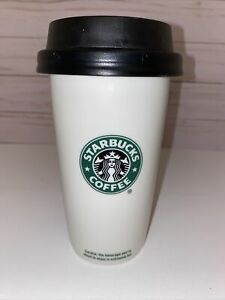 Starbucks Coffee 2009 coffee travel mug 12 fl oz ceramic