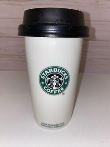 Starbucks Coffee 2009 coffee travel mug 12 fl oz ceramic