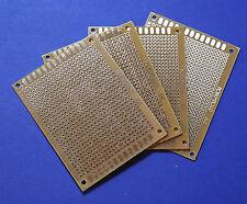 4 X Experimentier Platine Prototype Board 7x9cm Leiterplatte Lochraster Kupfer