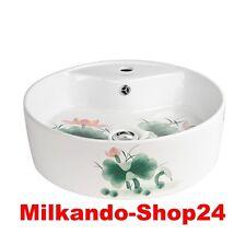 Design Keramik Aufsatzwaschbecken Waschbecken Waschtisch Waschschale Bad Kr 137
