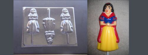 Snow White Lollipop Chocolate Candy Soap Crayon Mold