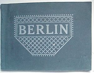 Antique Berlin Germany Picture Book