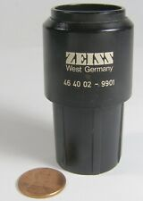 Zeiss Microscope Eyepiece 46 40 02 9701 W10x25 1 Count Dark Edges Of Lens Pic