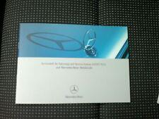 Mercedes Serviceheft für C-Klasse W204 ab Bj.2007
