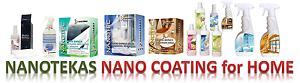 Nanotekas Home Nano Coating & Protect for Shoes Cook Tops Carpets Shower Floor