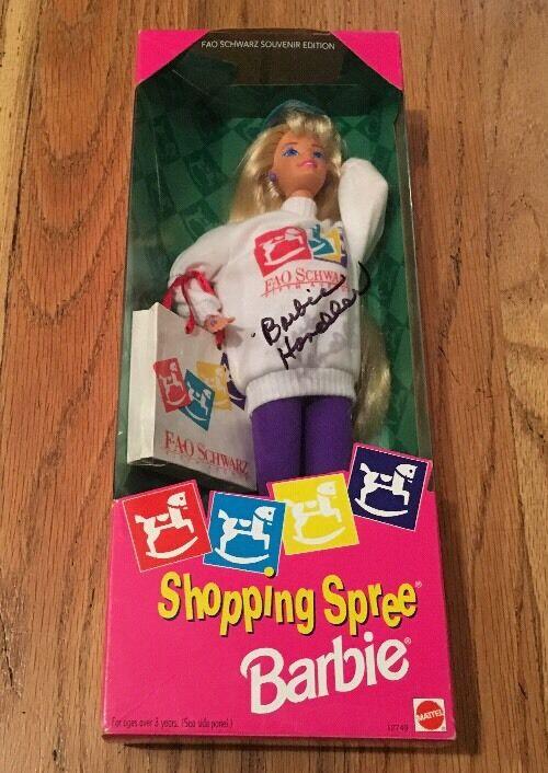 Einkaufen Spree Barbie - Fao Schwarz - 1994,  12749 Unterzeichnet Barbie Handler