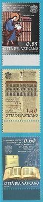 Tag Des Buches Vatikan Aus 2009 ** Postfrisch Minr.1642-1644 Extrem Effizient In Der WäRmeerhaltung
