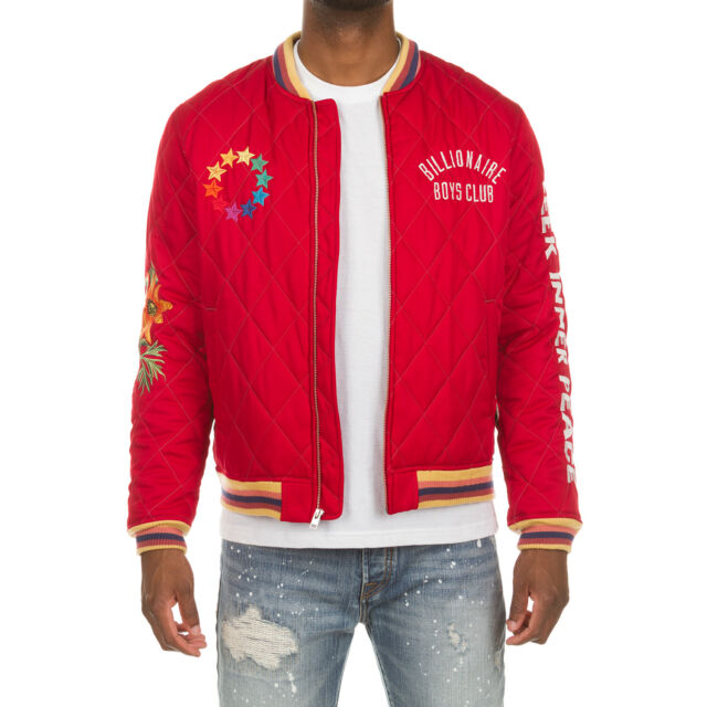 Billionaire Boys Club Destination Jacket 891-9403 Black Brand New Withtags