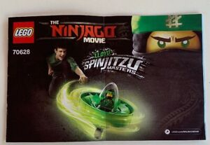 NEW-INSTRUCTIONS-ONLY-LEGO-Ninjago-Movie-70628-manual-book-from-set