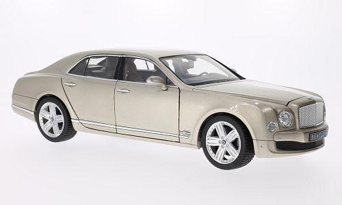 1:18 Rastar - Bentley Mulsanne LHD Perla D'Argento