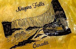 Niagara Falls Regenumhang Gelb/tranparent Bekleidung Regenbekleidung Intellektuell Org