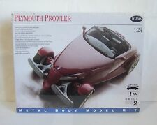 Testors Plymouth Prowler Metal Model Kit 1/24 SEALED 1997 Skill Level 2 (Q10)