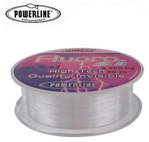 POWERLINE Fluoro si 30 Meter 0.23 mm 4.8 Kg High Tech Quality Invisible !!!