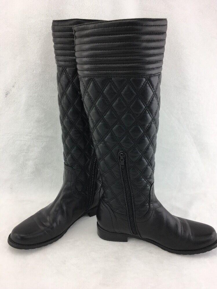 Stuart Weitzman de Clute Nappa Knee High bota Acolchado Acolchado Acolchado Negro talla 6.5 M RH13034   nuevo estilo