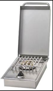 BULL-Stainless-Steel-Single-Sideburner-Item-60009-n-g-Built-in-Drop-in-NEW