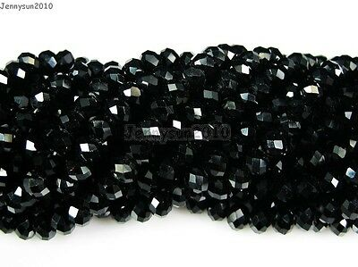 Czech Crystal 2mm x 3mm Faceted Rondelle Loose Beads For Bracelet Necklace Craft