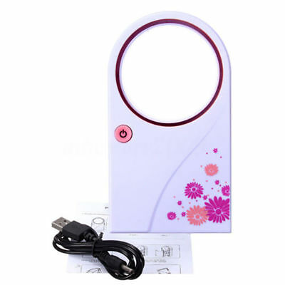 UK Bladeless Fan Portable AirFlow Cooling Fan Mute Dedicated Leafless HomeOffice