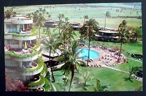 Details About 1960s Sheraton Maui Resort Hotel Kaanapali Beach Maui Hawaii
