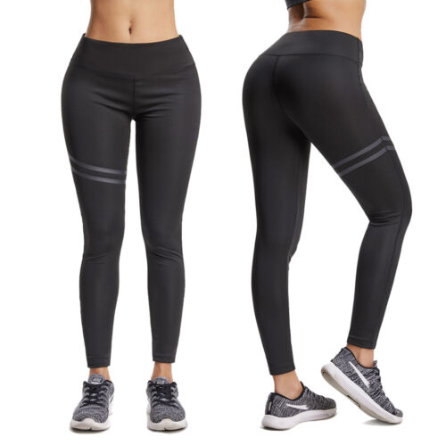 Womens Yoga Pants Fitness Running Leggings Ombre Sports High Waist Seamless Gym