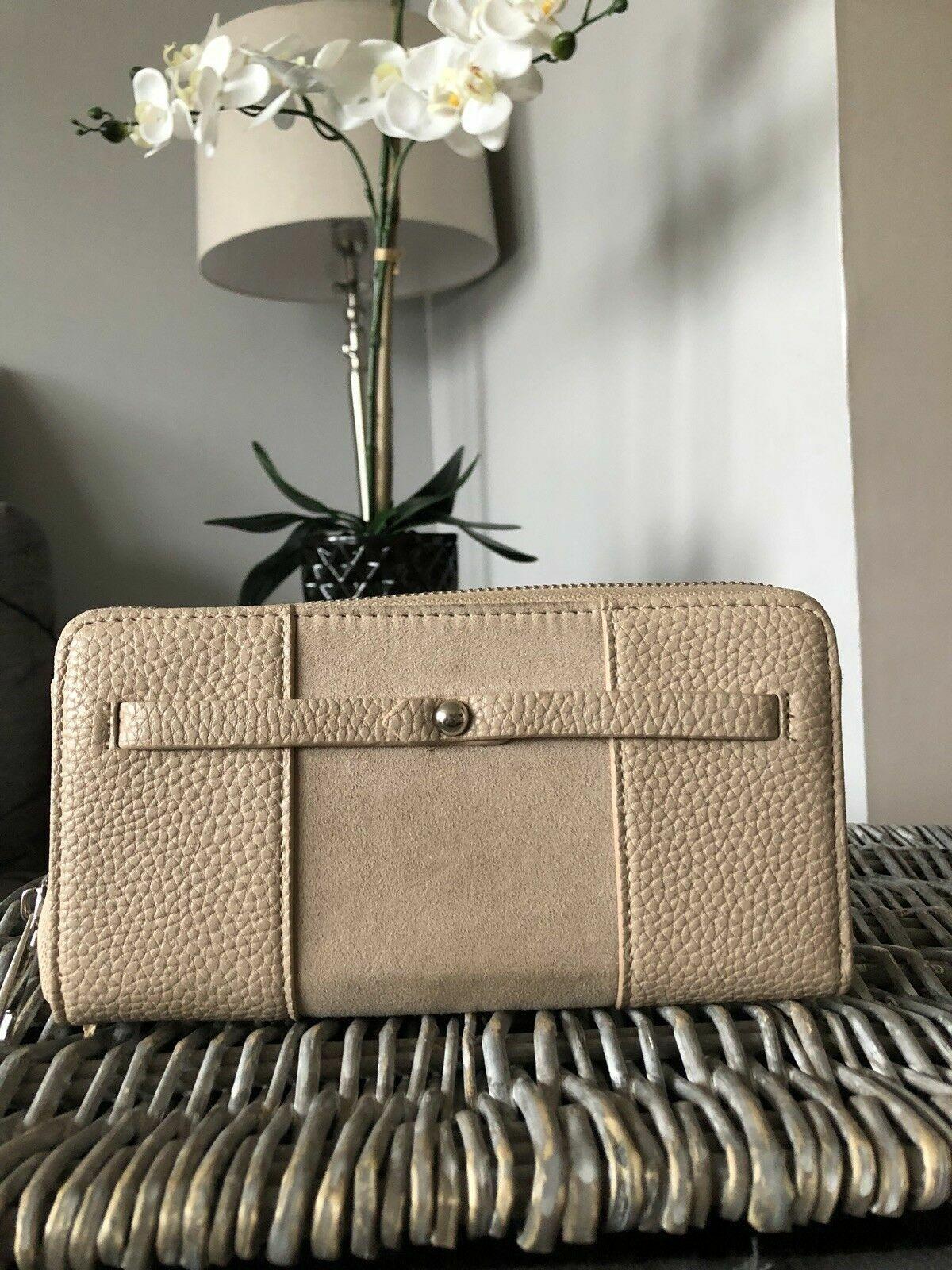 Next faux leather purse