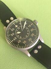 LACO original 1945 LUFTWAFFE VINTAGE 55MM German Pilot watch Collector Condition