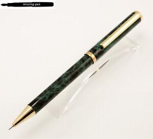 Harmel-Twin-Pen-Stift-0-5-MM-Kugelschreiber-blau-gruen-Marmor-Gold-Deutschland