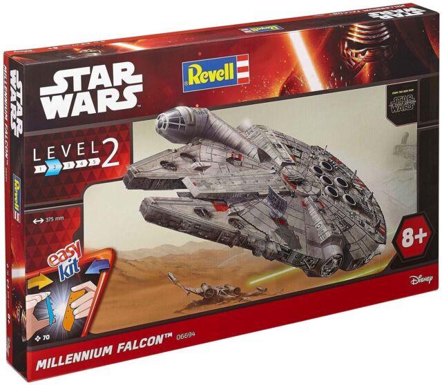 Revell Kit Modellismo Star Wars Millennium Falco 1:72,Level 2 Misura 06694 Nuovo