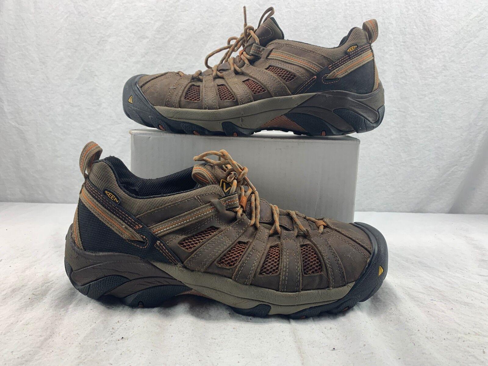 KEEN Utility 1007970 Men's Flint Low Steel Toe EH Work shoes Shitake Rust 13 EE