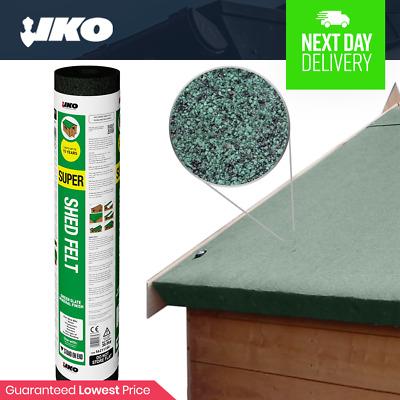 Iko Super Shed Felt Shed Roofing Felt Green 8m Roll Premium Shed Felt Ebay