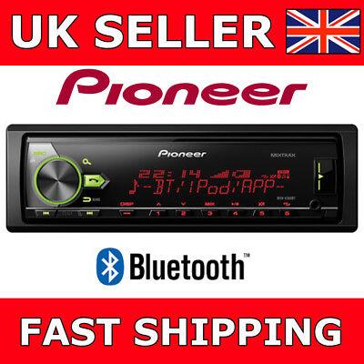 PIONEER MVH-X580BT MECHLESS BLUETOOTH MP3 Automóvil Estéreo USB AUX IN iPod Mixtrax