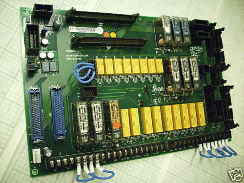NACHI MODEL UM160C CONNECTOR BOARD NEW CONDITION / NO BOX