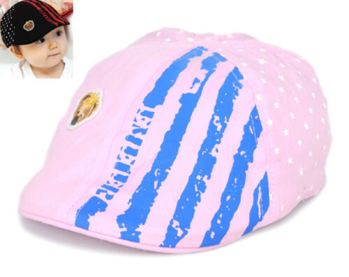 Baby Boys Girls Kids Bear Pentagram Cute Baseball Cap Cute Hat Beret Sun Hat
