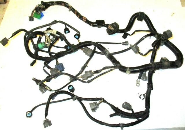 honda crv wire harness 99 01 honda crv at wire harness engine wiring loom cables plugs  99 01 honda crv at wire harness engine